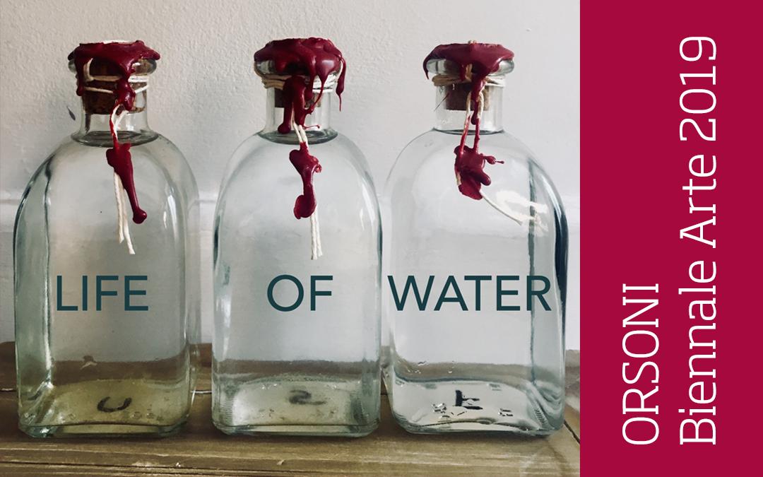 'LIFE OF WATER', Orsoni Venezia 1888 in Biennale Arte 2019