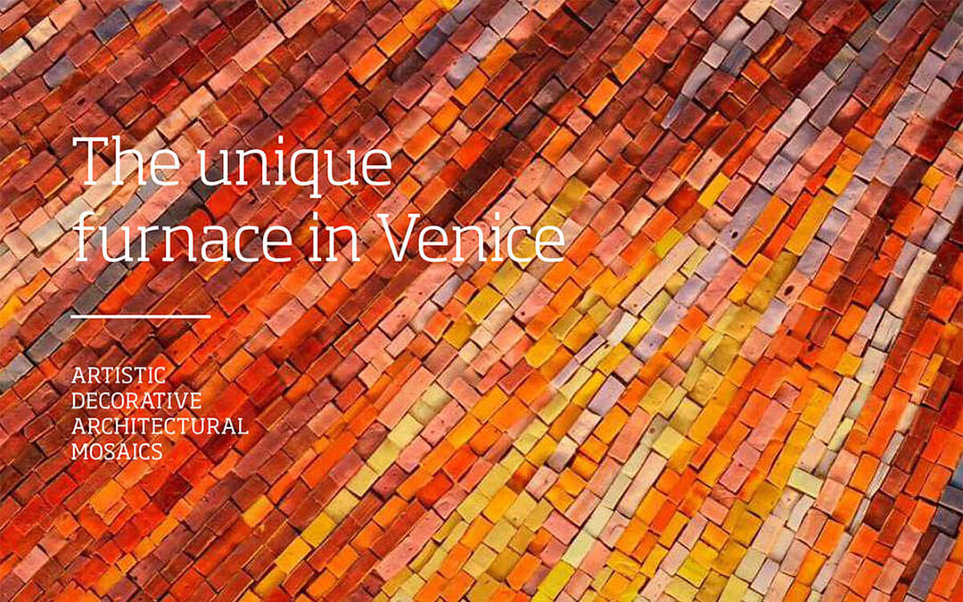 """""""The unique furnace in Venice"""": un viaggio cromatico attraverso le meraviglie di Orsoni Venezia 1888"""